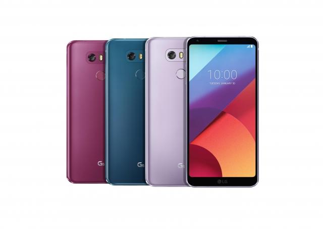 Нові колірні рішення для смартфонів G6 і Q6