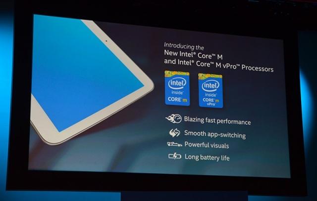 Новые процессоры Intel Core M и устройства на них