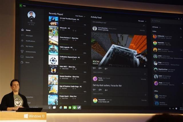 Приложение Xbox App для Windows 10
