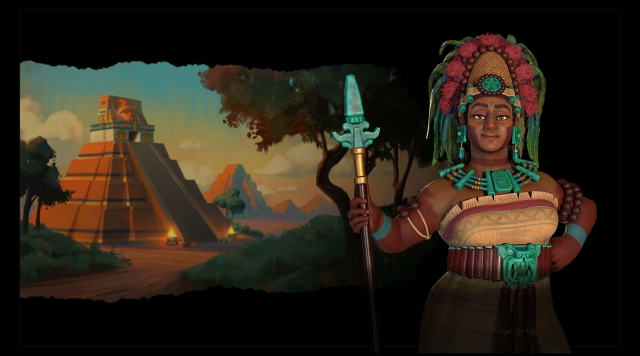 Civilization VI – New Frontier Pass: Lady Six Sky – правителька народу майя