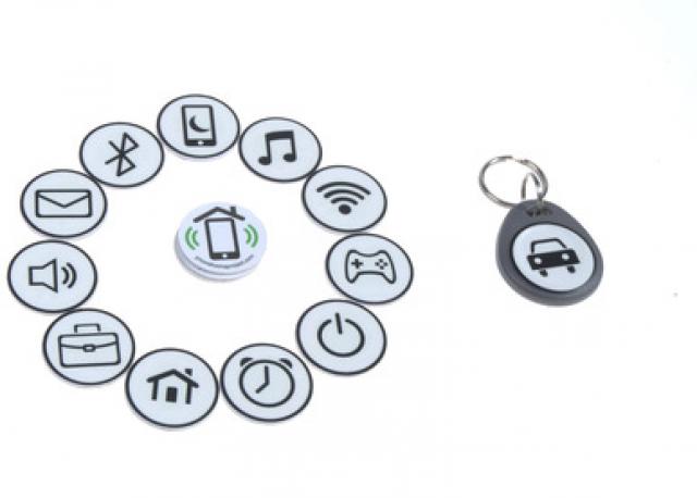 NFC-метки от PhoneHome автоматизируют ваш дом, автомобиль и собаку