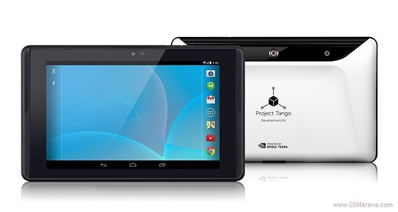 В магазине Google Play появился первый планшет Project Tango для разработчиков