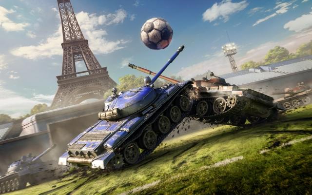 Мячи к бою: танковый футбол возвращается