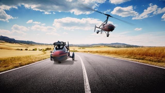 Літаючий автомобіль PAL-V вже доступний для замовлення