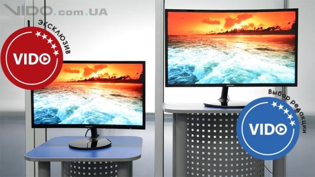 Обзор мониторов Samsung C24F390F и C27F390F: комфортная работа