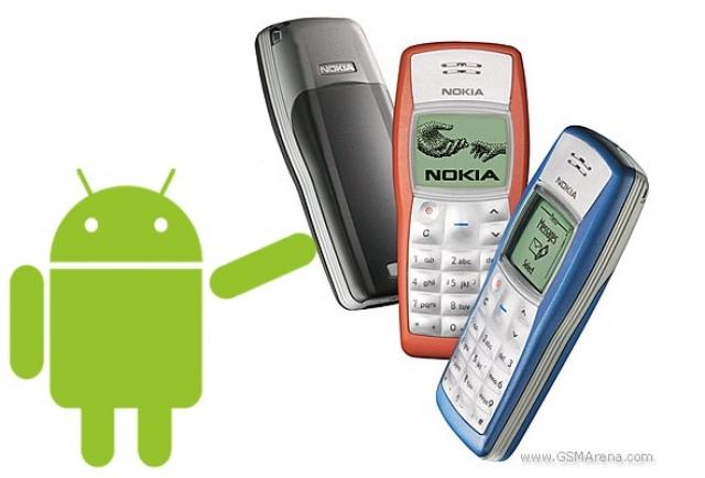 Слухи о Nokia 1100 с 4-ядерным процессором и  Android Lollipop появились в сети