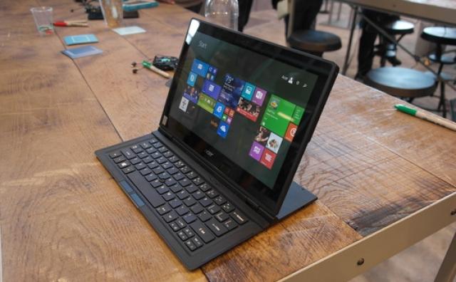 Acer продемонстрировала достоинства трансформера Aspire Switch 12