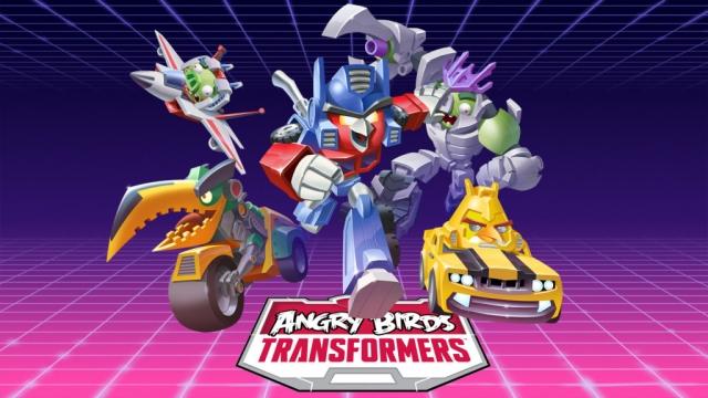Angry Birds: Transformers доступна для пользователей Android