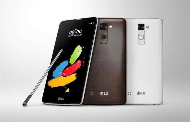 LG STYLUS 2 на MWC 2016 с новым стилусом