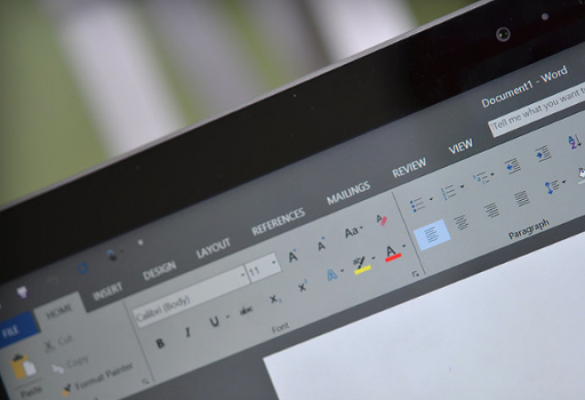Первый взгляд на мрачный интерфейс нового Microsoft Office