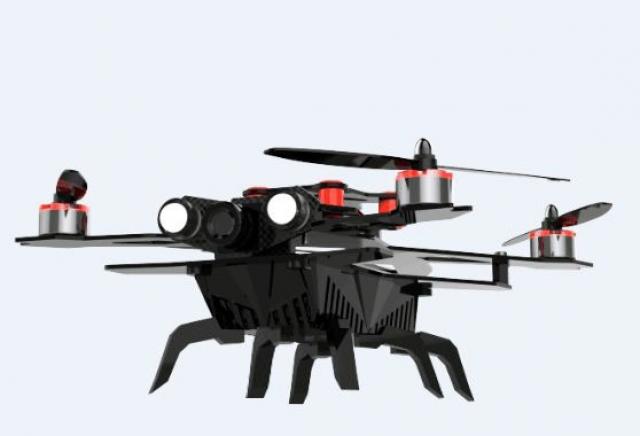 Квадрокоптер Eachine Assassin 180 FPV: высоко лечу, все вижу