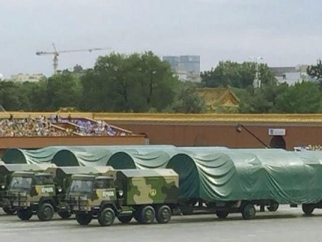 Новая баллистическая ракета Китая