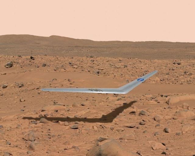 НАСА тестирует беспилотник для полетов на Марсе
