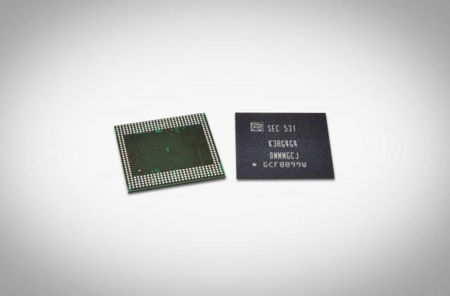 12-гигабитный чип мобильной DRAM-памяти LPDDR4