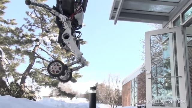 Boston Dynamics представила нового робота Handle