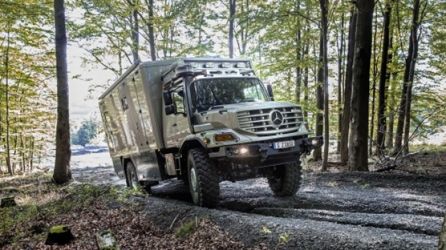 Mercedes Zetros - дом на внедорожных колесах