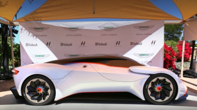 Aston Martin представил футуристический суперкар DP100 Vision Gran Turismo
