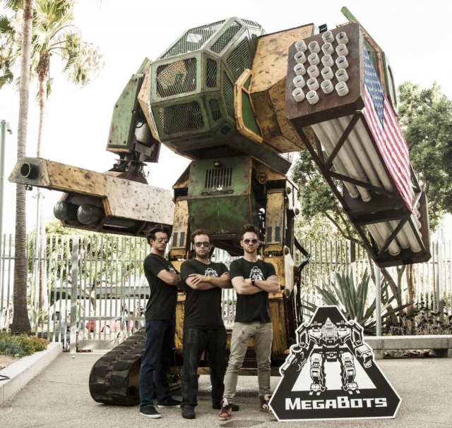 НАСА и команда MegaBots объединились для создания гигантского боевого робота