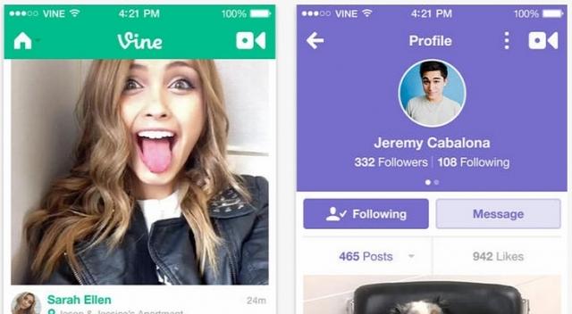 Vine: да здравствует видеообщение для пользователей iOS
