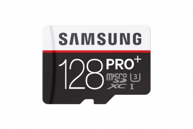 MicroSD карта памяти Samsung PRO Plus на 128 ГБ