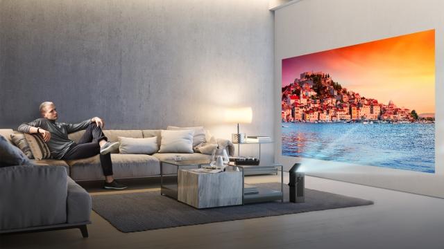 LG представить інноваційний 4K UHD проектор