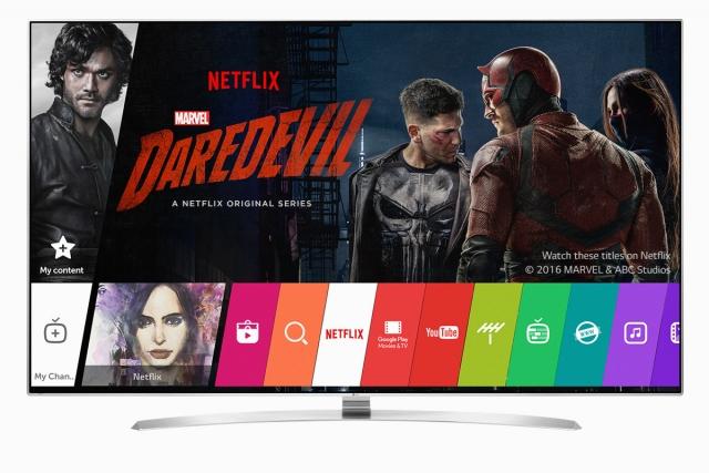 Новые возможности интернет-телевидения с LG OLED, SUPER UHD и UHD