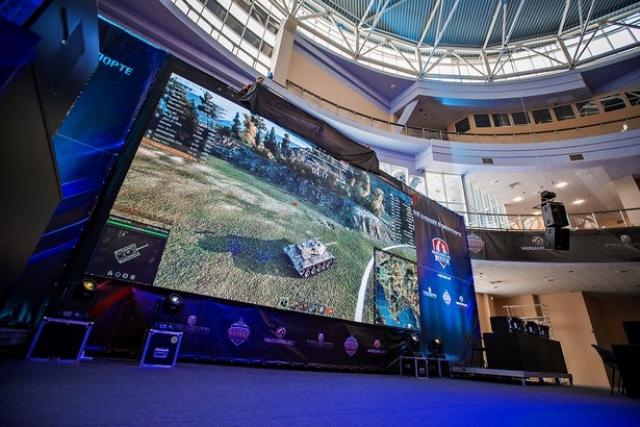 Турнир по World of Tanks собрал 3000 человек в Харькове