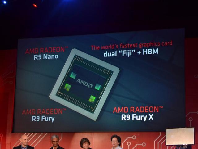 AMD представили серию графических карт Radeon R9 Fury с процессорами Fiji и игровой ПК