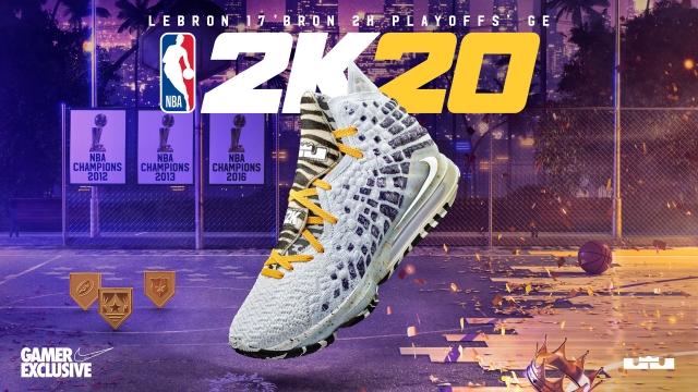 Нове ексклюзивне лімітоване взуття NBA 2K Gamer Exclusive для серії ігор плей-офф у режимі MyPLAYER Nation – LeBron 17 'Bron 2K Playoffs'