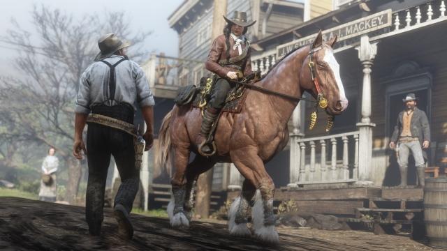 Оновлення «Red Dead Online: Промисли на фронтирі» представлене офіційно