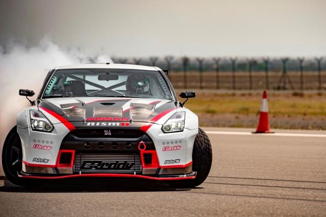 Nissan GT-R побил рекорд самого быстрого Дрифта