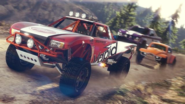 В GTA Online з'явилося оновлення: Benefactor Krieger, нові перегони, виплати та бонуси