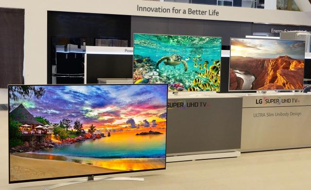 Нова лінійка телевізорів LG SUPER UHD TV на виставці CES 2016
