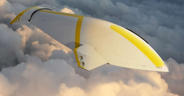 Концепция роскошного дирижабля для воздушных круизов