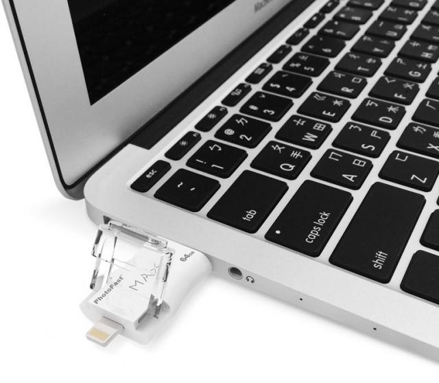Флеш-накопитель PhotoFast может передавать данные между Lightning и USB 3.0