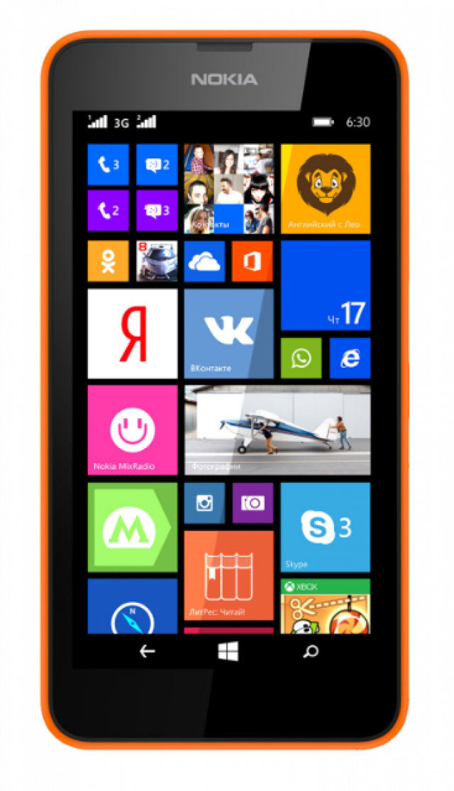 Новый смартфон Lumia 630 уже в продаже в Украине