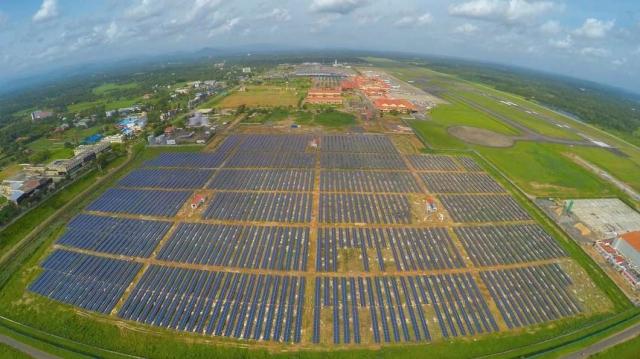 Международный аэропорт Кочин в Индии полностью перейдет на солнечную энергию