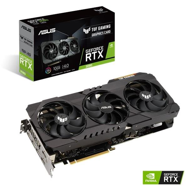 Нові відеокарти серії TUF Gaming GeForce RTX 30 від Asus