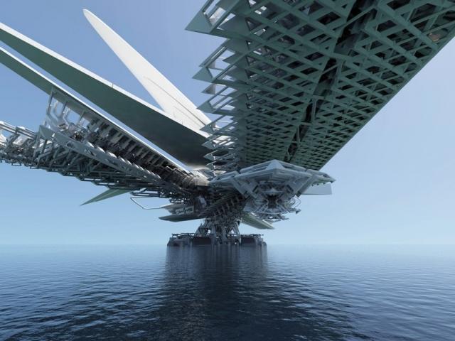 Диво архітектури: міст у вигляді комахи-трансформера збираються побудувати у Монголії