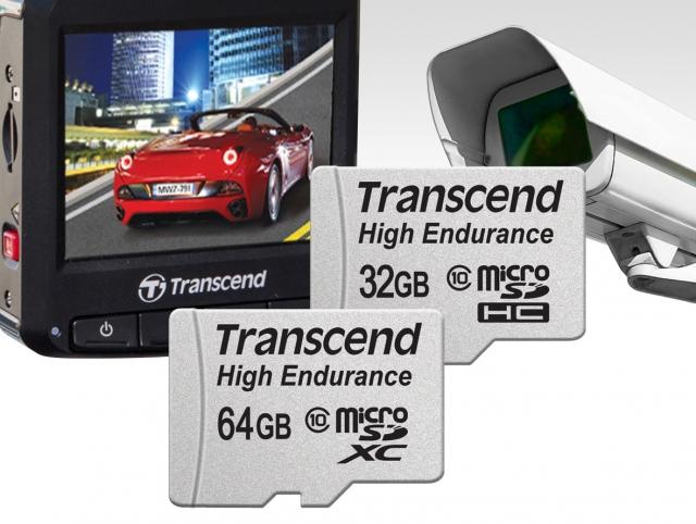 Карты памяти High Endurance для видеорегистраторов и камер слежения