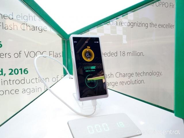 Нова технологія компанії Oppo: повна зарядка смартфона за 15 хвилин