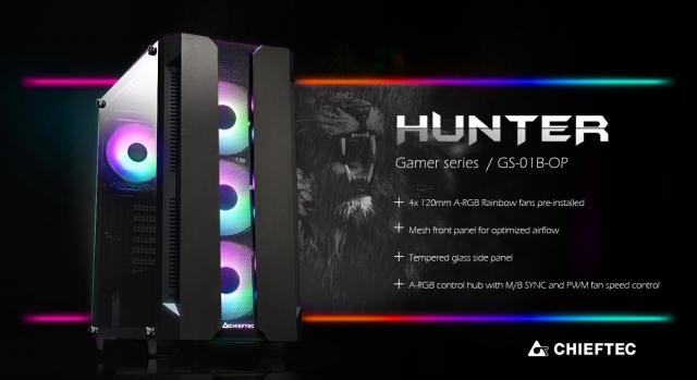 Chieftec представляє новий ATX Gaming Case!