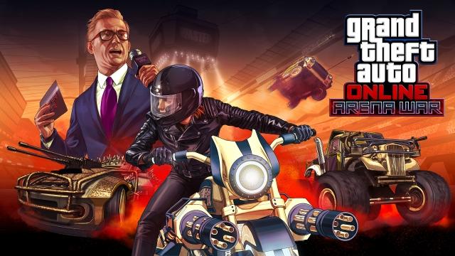 Цього тижня в GTA Online: потрійна винагорода в серії «Битва на арені», знижка на майстерню та інші бонуси