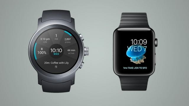 Порівняння смарт-годинників LG Watch Sport та Apple Watch Series 2