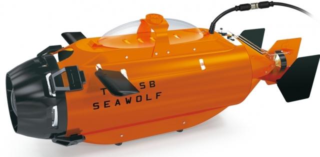 Субмарина Seawolf с камерой GoPro откроет вам новый подводный мир