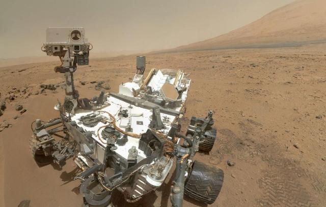Curiosity надіслав нові фото з Марсу