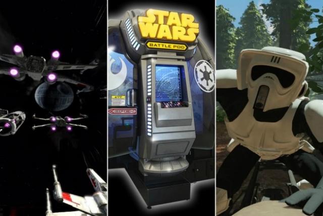Смотрите, как создавалась игра Star Wars: Battle Pod