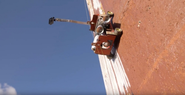 Робот, що створює графіті (відео)
