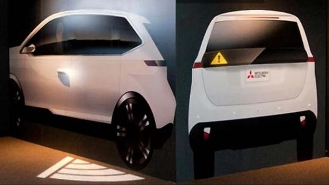 Mitsubishi готує проекційну систему безпеки, яка освітлює дорогу
