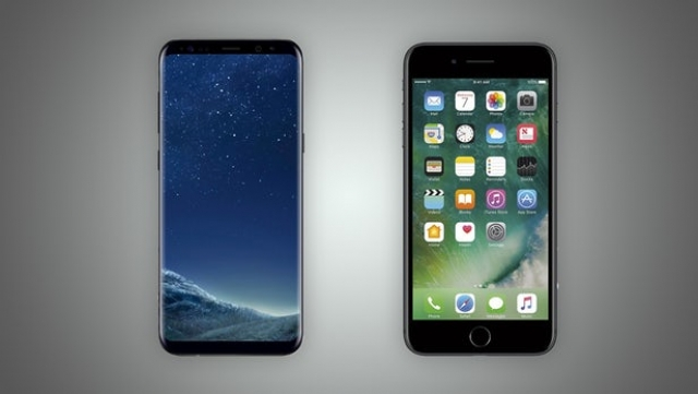 Samsung Galaxy S8 Plus vs. iPhone 7 Plus